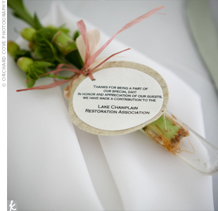 Courtesy of The Knot.com and Orchard Cove Photography